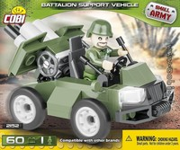 Cobi - Small Army - Battalion Support Vehicle (60 Pieces) - Cover