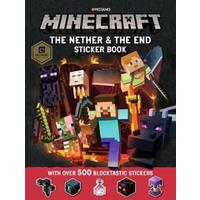 Minecraft the Nether and the End Sticker Book - Mojang Ab (Paperback)