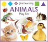 First Learning Animals Play Set - Roger Priddy (Hardcover)