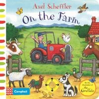 On the Farm - Axel Scheffler (Board book) - Cover