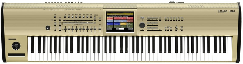 Korg KRONOS 88 88 Key Music Workstation (Gold Limited Edition)
