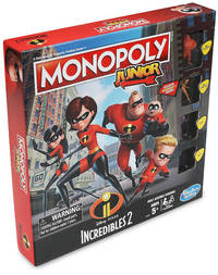 Monopoly Junior - Incredibles 2 (Board Game) - Cover
