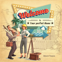 Welcome To... (Board Game) - Cover