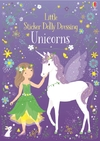 Little Sticker Dolly Dressing Unicorns - Fiona Watt (Paperback)