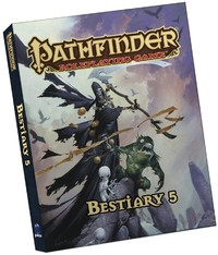 Pathfinder Roleplaying Game - Bestiary 5 (Role Playing Game) - Cover
