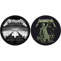 Metallica - Master of Puppets / And Justice For All (Slipmat Set) - Cover