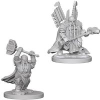Dungeons & Dragons - Nolzur's Marvelous Unpainted Miniatures - Dwarf Male Paladin (Miniatures)