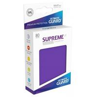 Ultimate Guard - Supreme UX Standard Size Card Sleeves - Purple (80 Sleeves)