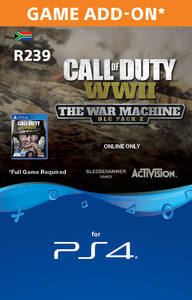 Call of Duty WWII - The War Machine  Expansion DLC Pack 2 (PS4) - Cover