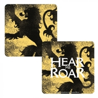 Game of Thrones - Lannister Lenticular - Single Coaster - Cover