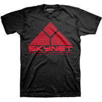 Studio Canal Skynet Logo Mens Black T-Shirt (Large) - Cover