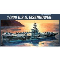 Academy - 1/800 - USS Eisenhower Ship (Plastic Model Kits)