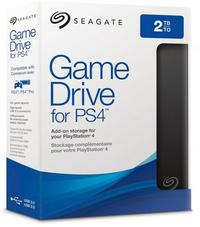 Seagate - 2TB Game Drive for PS4 USB 3.0 External Hard Drive - Cover