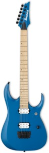 Ibanez RGDIR6M Iron Label Series Electric Guitar (Laser Blue Matte) - Cover