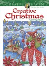 Creative Haven Creative Christmas Coloring Book - Marjorie Sarnat (Paperback)