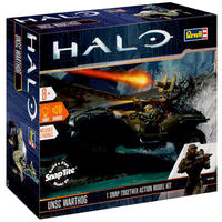 Revell - 1/32 - Halo - UNSC Warthog Snap-Together Action Model Kit (Plastic Model Kit)