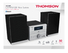 Bigben Interactive - Thomson Mini Stereo Micro System Bluetooth CD/MP3/USB Micro System