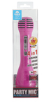 Bigben Interactive - I Dance Bluetooth Wireless Microphone with Lighting - Pink