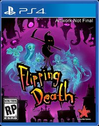 Flipping Death (US Import PS4) - Cover