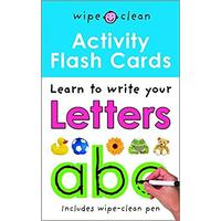 Activity Flash Cards Letters ABC - Roger Priddy (Paperback)