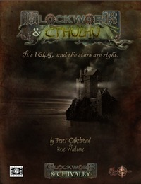 Clockwork & Cthulhu (Role Playing Game) - Cover