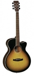 Tanglewood DBT SFCE DVB Discovery Series Super Folk Acoustic Electric Guitar (Dark Violin Burst)