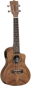 Tanglewood TWT 13 E Tiare Series Concert Cutaway Acoustic Electric Ukulele (Natural) - Cover