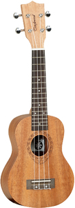 Tanglewood TWT1 Tiare Series Soprano Ukulele with Case (Natural) - Cover
