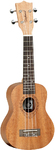 Tanglewood TW T1 Tiare Series Soprano Ukulele with Case (Natural)