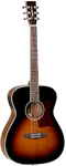 Tanglewood  X70 TE Sundance Performance Pro Series Orchestra Folk Acoustic Electric Guitar (Vintage Burst Gloss)