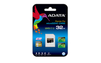 ADATA Premier Pro 32GB microSDHC UHS-I U3 Class 10 with SD adapter - Retail Pack (Open Box Unit) - Cover