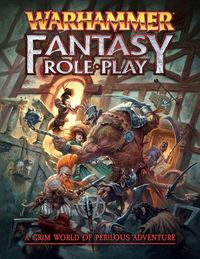 Warhammer Fantasy Roleplay: 4th Edition - Rulebook (Role Playing Game) - Cover