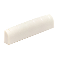 Graphtech PQ-6115-00 TUSQ 3/16 Inch Acoustic or Electric Slotted Nut (White) - Cover
