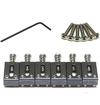 Graphtech PS-8000-0E String Saver Originals Electrically Conductive Strat and Tele 2 1/16 Inch String Spacing Saddles (Black)