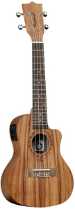 Tanglewood TWT 16 E Tiare Series Concert Cutaway Acoustic Electric Ukulele (Natural) - Cover
