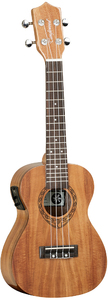 Tanglewood TWT 8 E Tiare Series Concert Acoustic Electric Ukulele with Case (Natural) - Cover