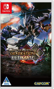 Monster Hunter Generations Ultimate (Nintendo Switch) - Cover