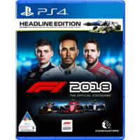 F1 2018 - The Official Videogame - Headline Edition (PS4)