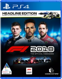 F1 2018 - The Official Videogame - Headline Edition (PS4) - Cover