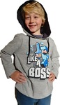 Minecraft - Like a Boss - Youth Hoodie - Grey (9-10 Years) (Medium)