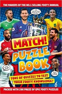 Match! Football Puzzles - Match (Paperback) - Cover