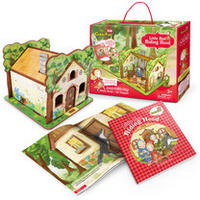 CubicFun - Little Red Riding Hood 3D Puzzle (35 Pieces)