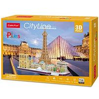 CubicFun - City Line Paris 3D Puzzle (114 Pieces)