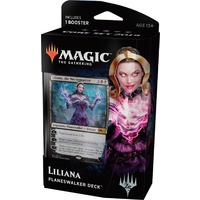Magic: The Gathering - Core Set 2019 Planeswalker Deck - Liliana, the Necromancer (Trading Card Game)