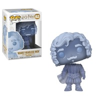 Funko Pop! Harry Potter - Nearly Headless Nick (Blue Translucent) Vinyl Figure - Cover
