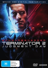 Terminator 2 - Judgment Day (DVD) - Cover