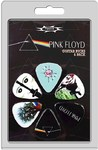 Perri's LP-PF1 6 Pack Pink Floyd Guitar Plectrums (Multicolour)