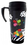 Pylones - Scales Star Mug - Black (350ml)