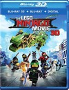 Lego Ninjago Movie 3D (Region A Blu-ray)