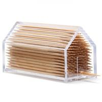 Monkey Business - Clear House Toothpick Holder